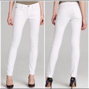 AG Adriano Goldschmied Stilt Ankle Jean in White